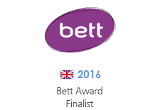 2016' Bett Award Finalist, Early Years Digital Content