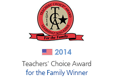 2014' Teachers' Choice Award for the Family 수상