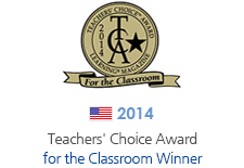 2014' Teachers' Choice Award for the Classroom 수상